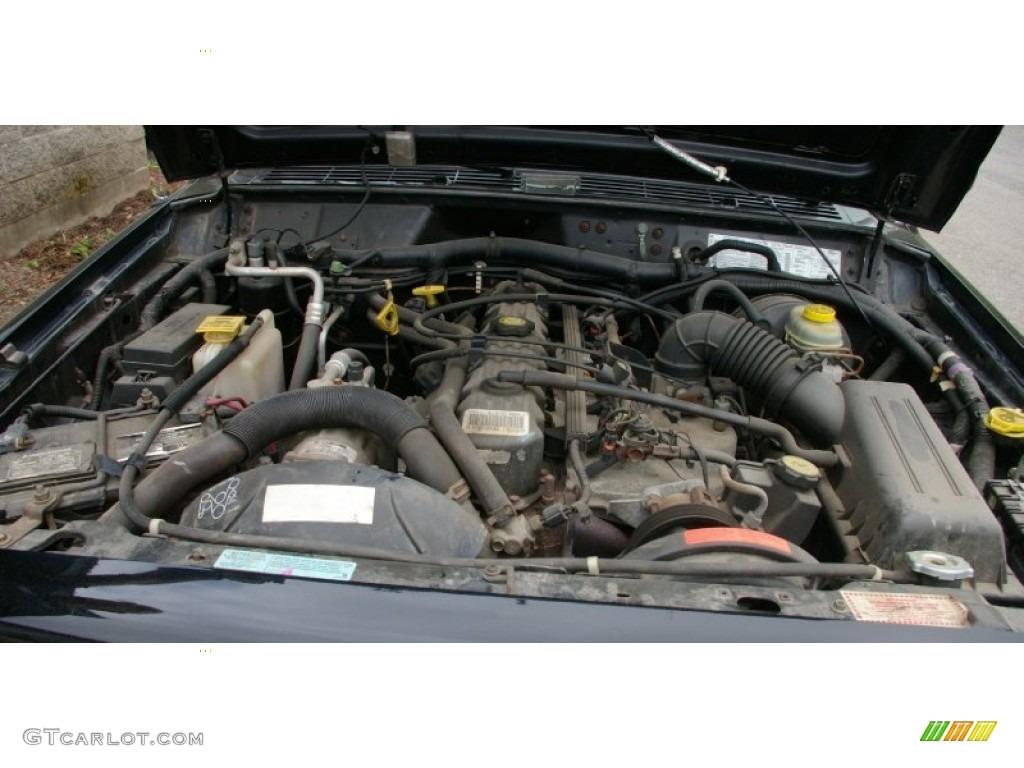 2000 Jeep Cherokee Sport 4x4 Engine Photos | GTCarLot.com