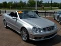 Brilliant Silver Metallic - CLK 500 Cabriolet Photo No. 9