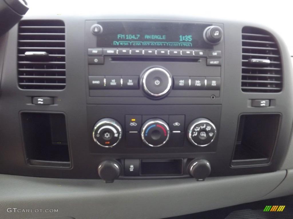 2013 Silverado 1500 LS Regular Cab 4x4 - Deep Ruby Metallic / Dark Titanium photo #8