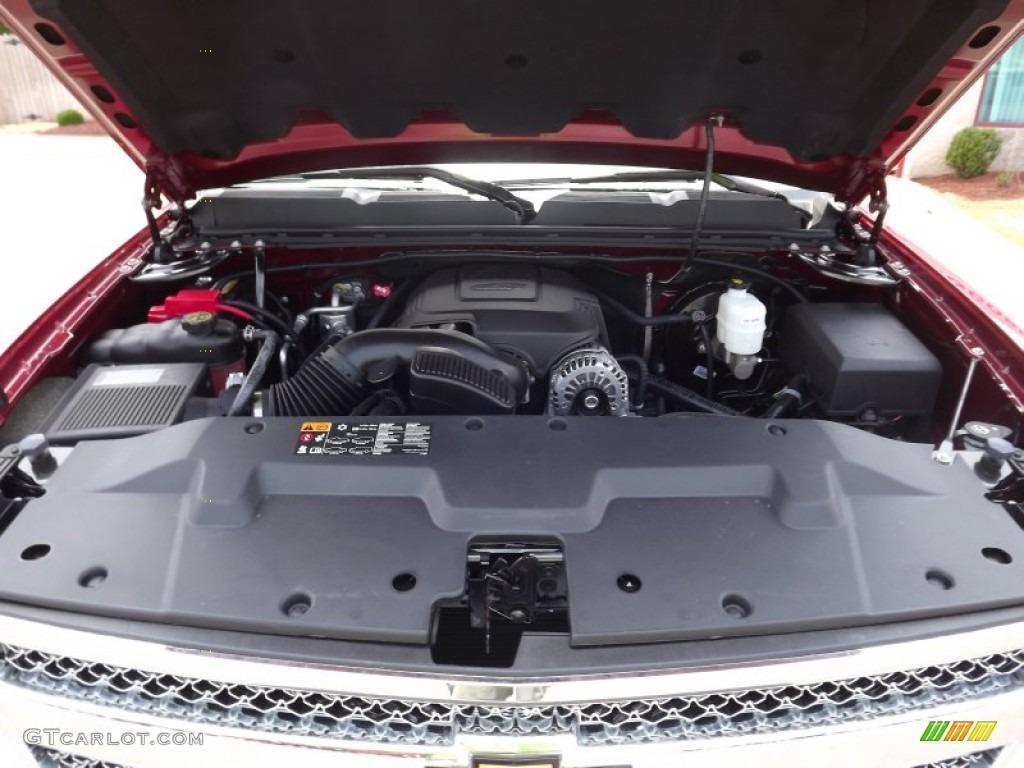 2013 Silverado 1500 LS Regular Cab 4x4 - Deep Ruby Metallic / Dark Titanium photo #12