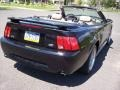 2002 Black Ford Mustang GT Convertible  photo #9