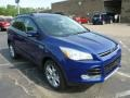 Deep Impact Blue Metallic 2013 Ford Escape SEL 2.0L EcoBoost 4WD