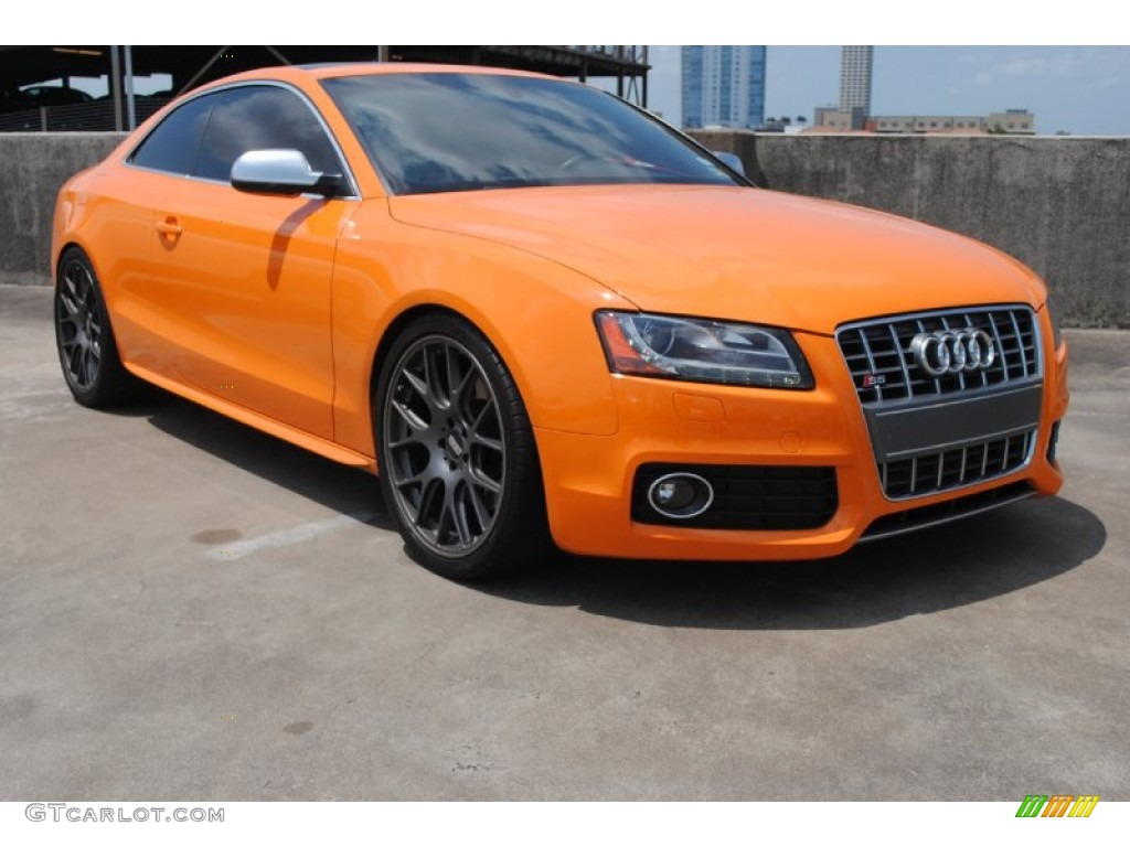2011 Glut Orange Audi S5 4 2 Fsi Quattro Coupe 81288459