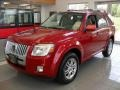 Sangria Red Metallic 2011 Mercury Mariner Premier