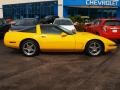 1994 Competition Yellow Chevrolet Corvette Coupe #81287835