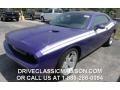 2013 Plum Crazy Pearl Dodge Challenger R/T Classic  photo #1