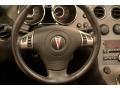 2008 Pontiac Solstice Ebony Interior Steering Wheel Photo