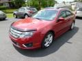 2011 Red Candy Metallic Ford Fusion Sport AWD  photo #3