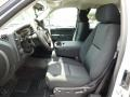 Ebony Front Seat Photo for 2013 Chevrolet Silverado 1500 #81336903