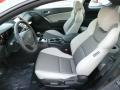 Gray Leather/Gray Cloth Interior Photo for 2013 Hyundai Genesis Coupe #81339020