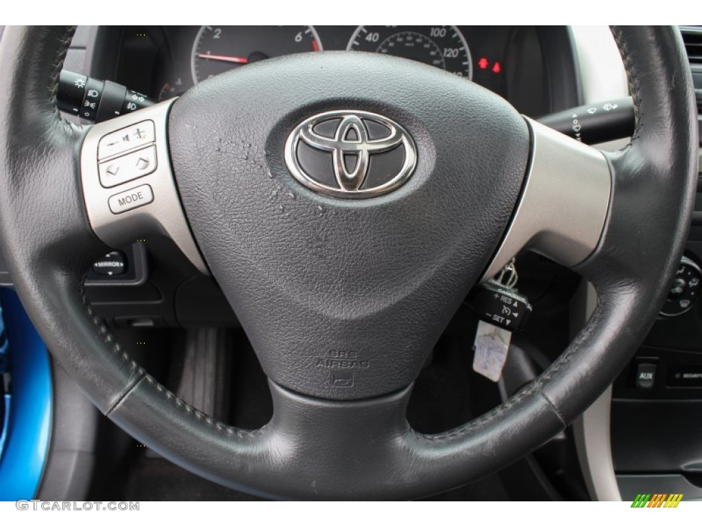 2009 toyota corolla s steering wheel photos. Black Bedroom Furniture Sets. Home Design Ideas