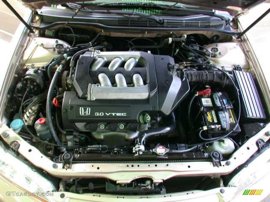 2002 Honda Accord Ex V6 Sedan Engine Photos