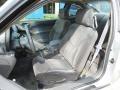 2002 Pontiac Grand Am Dark Pewter Interior Front Seat Photo