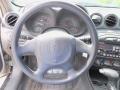 2002 Pontiac Grand Am Dark Pewter Interior Steering Wheel Photo