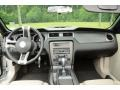 2010 Ford Mustang Stone Interior Dashboard Photo