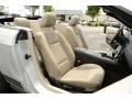 2010 Ford Mustang Stone Interior Front Seat Photo