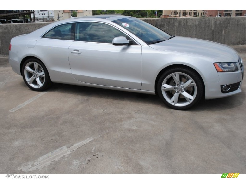 ice silver metallic 2012 audi a5 2 0t quattro coupe exterior photo 81367551. Black Bedroom Furniture Sets. Home Design Ideas