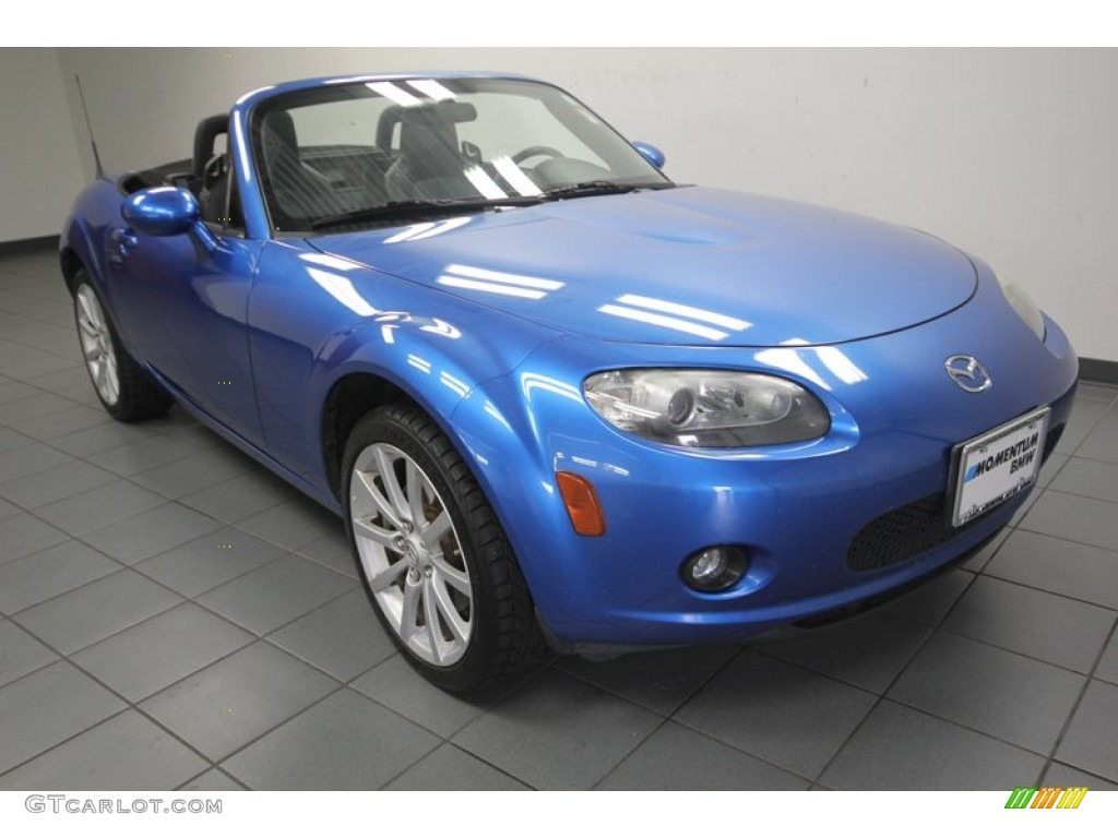 2006 winning blue metallic mazda mx 5 miata sport roadster 81349209 car color. Black Bedroom Furniture Sets. Home Design Ideas