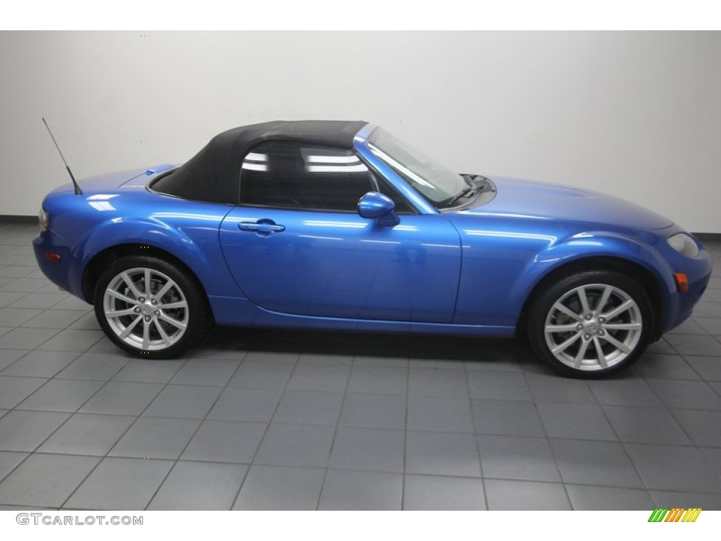 2006 winning blue metallic mazda mx 5 miata sport roadster 81349209 photo 8. Black Bedroom Furniture Sets. Home Design Ideas