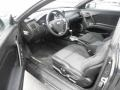 2008 Hyundai Tiburon GS Black Cloth Interior Prime Interior Photo