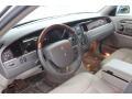 2007 Lincoln Town Car Medium Light Stone Interior Dashboard Photo