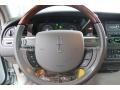 2007 Lincoln Town Car Medium Light Stone Interior Steering Wheel Photo