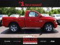 Flame Red 2013 Ram 1500 Sport Regular Cab 4x4