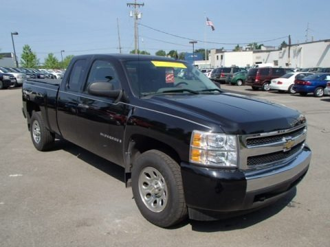 2007 chevrolet silverado 1500 ls extended cab 4x4 data. Black Bedroom Furniture Sets. Home Design Ideas