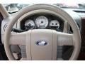 2005 Ford F150 Tan Interior Steering Wheel Photo