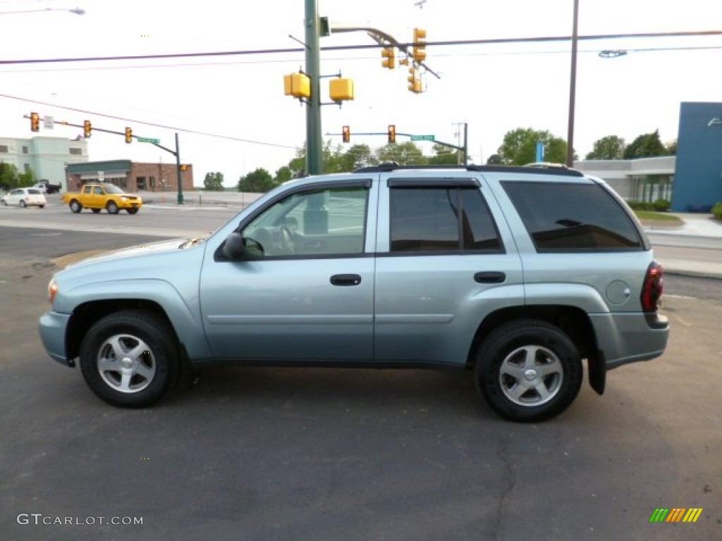 Silver Blue Metallic 2006 Chevrolet Trailblazer Ls 4x4