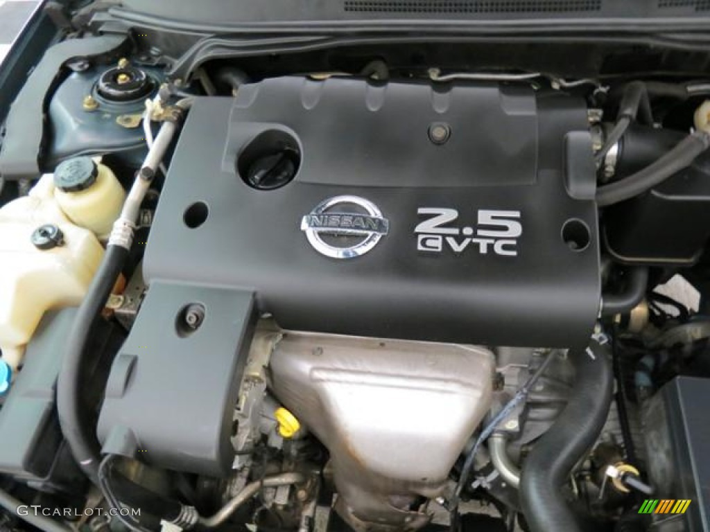 2006 Nissan Altima 2 5 S Engine Photos