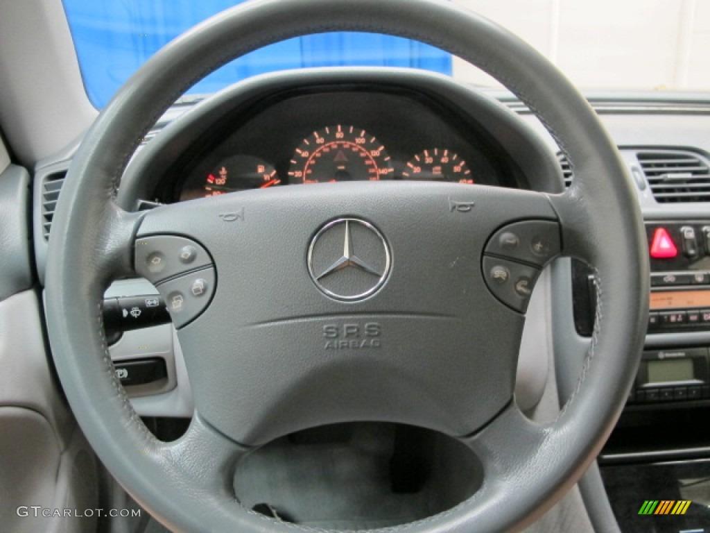 2001 mercedes benz clk 430 cabriolet ash steering wheel for Mercedes benz steering wheel control buttons