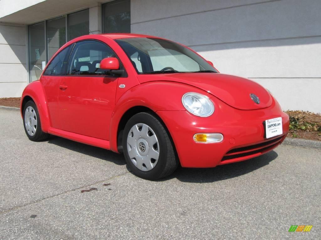 2000 red uni volkswagen new beetle gl coupe 8120229. Black Bedroom Furniture Sets. Home Design Ideas