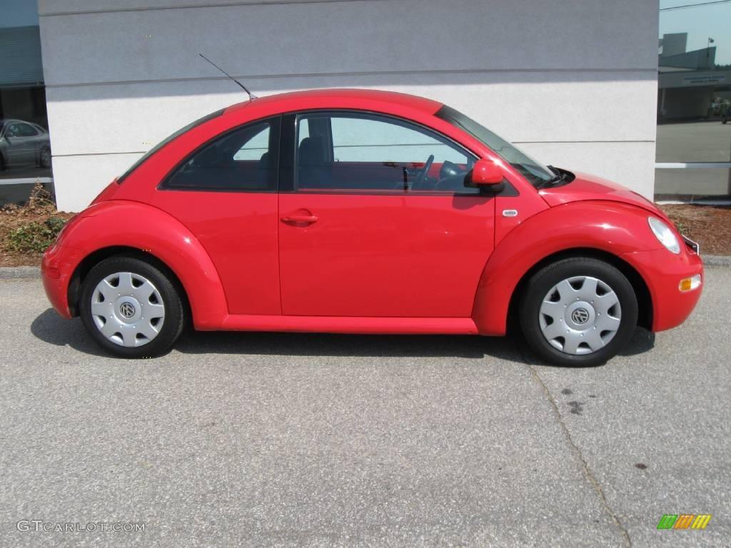 2000 red uni volkswagen new beetle gl coupe 8120229 photo 2 car color galleries. Black Bedroom Furniture Sets. Home Design Ideas