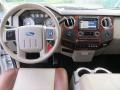 2010 Ford F250 Super Duty Cabela's Dark Rust/Medium Stone Interior Dashboard Photo