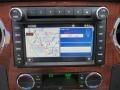 2010 Ford F250 Super Duty Cabela's Dark Rust/Medium Stone Interior Navigation Photo