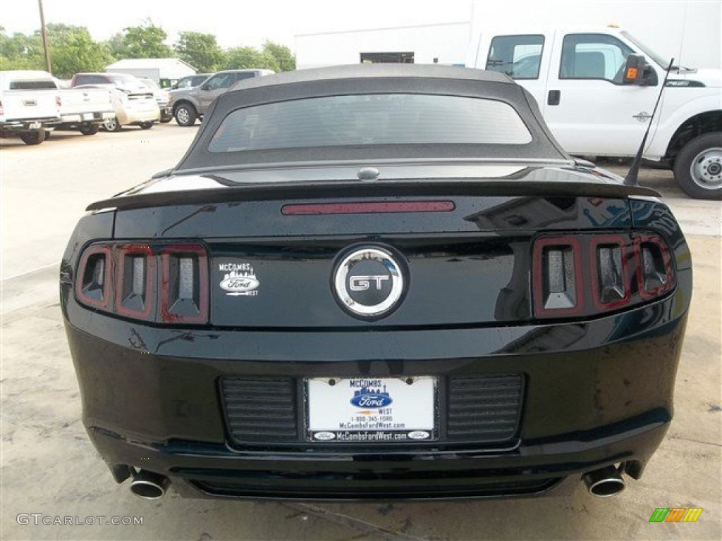 2014 black ford mustang gt premium convertible 81403365. Black Bedroom Furniture Sets. Home Design Ideas