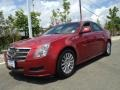 Crystal Red Tintcoat 2010 Cadillac CTS 3.0 Sedan