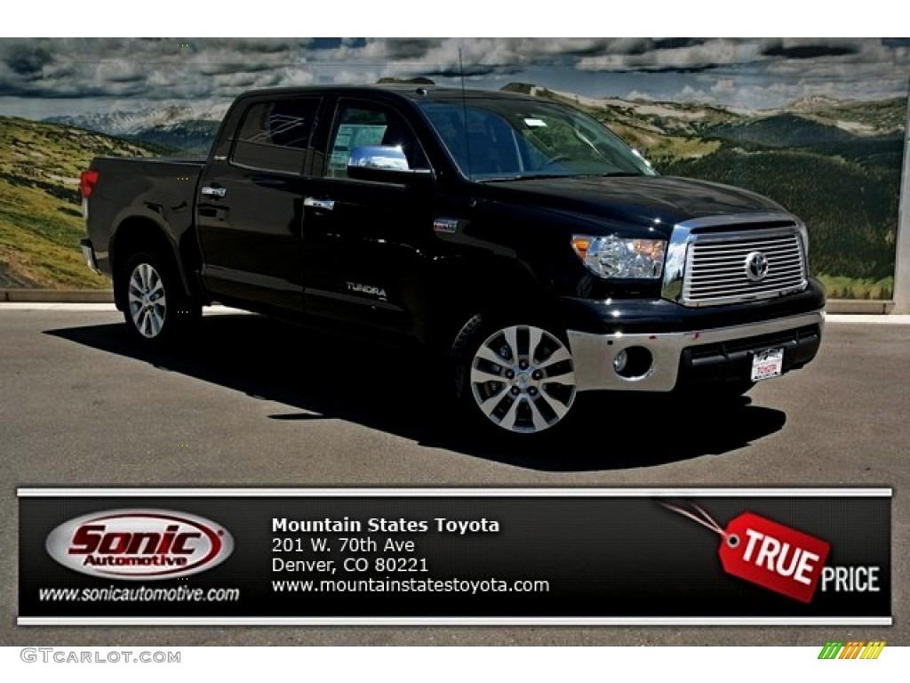 Black Toyota Tundra