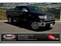 2013 Black Toyota Tundra Platinum CrewMax 4x4  photo #1