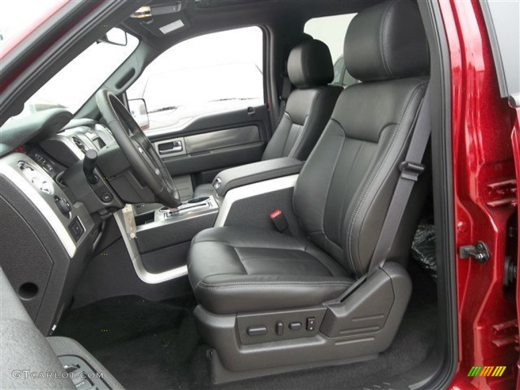 black interior 2013 ford f150 fx4 supercrew 4x4 photo. Black Bedroom Furniture Sets. Home Design Ideas
