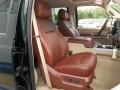 2013 Ford F250 Super Duty King Ranch Chaparral Leather/Adobe Trim Interior Front Seat Photo