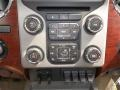 2013 Ford F250 Super Duty King Ranch Chaparral Leather/Adobe Trim Interior Controls Photo