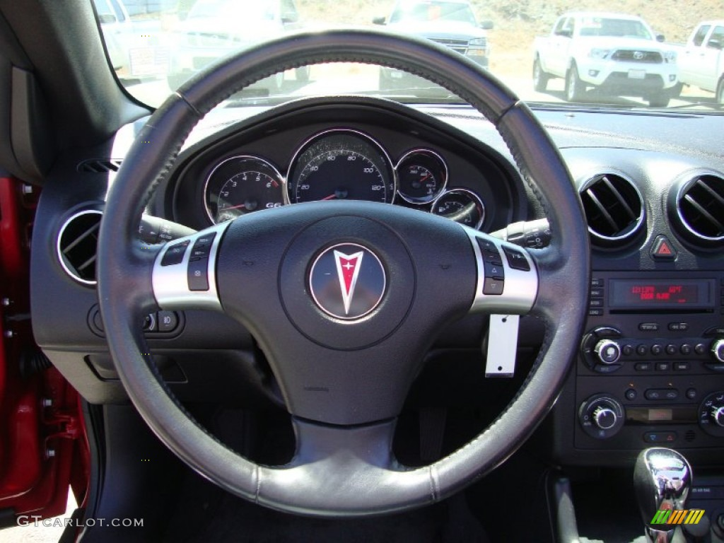 2006 Pontiac G6 Gtp Convertible Steering Wheel Photos