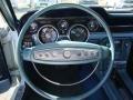 1968 Ford Mustang Aqua Interior Steering Wheel Photo