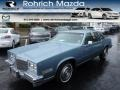 Blue 1985 Cadillac Eldorado Coupe