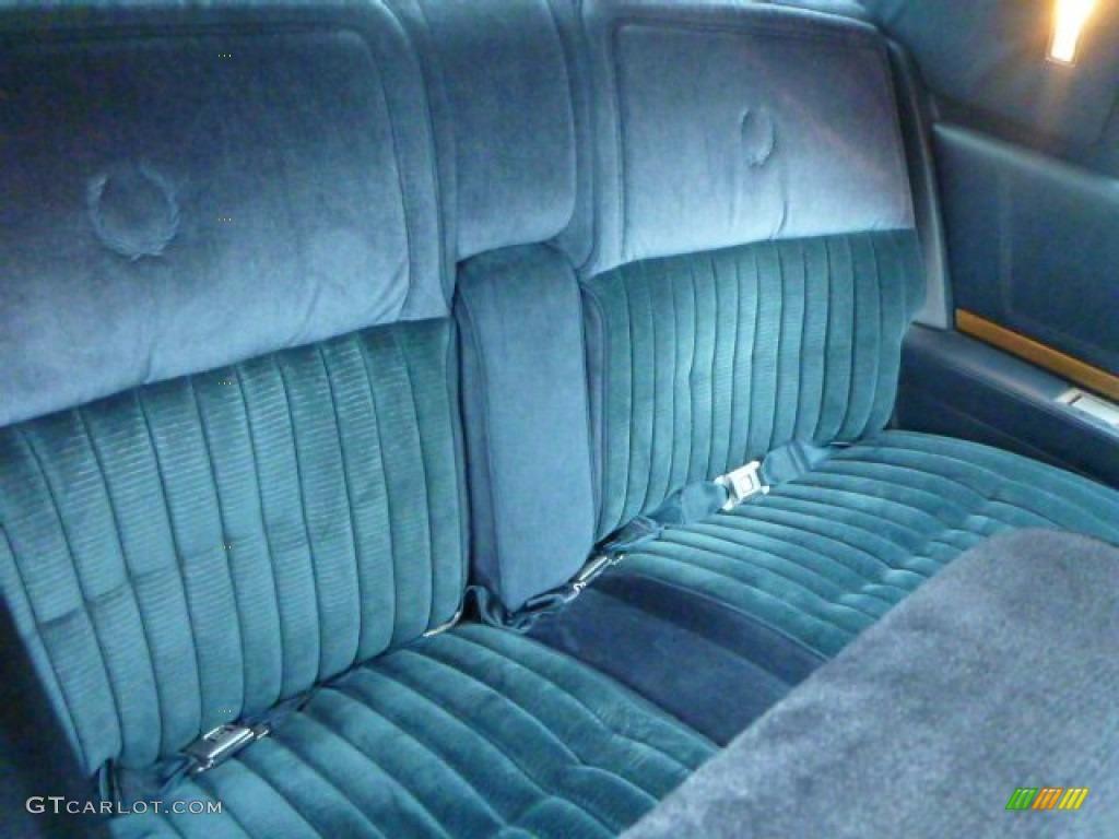 1985 Cadillac Eldorado Coupe Interior Color Photos