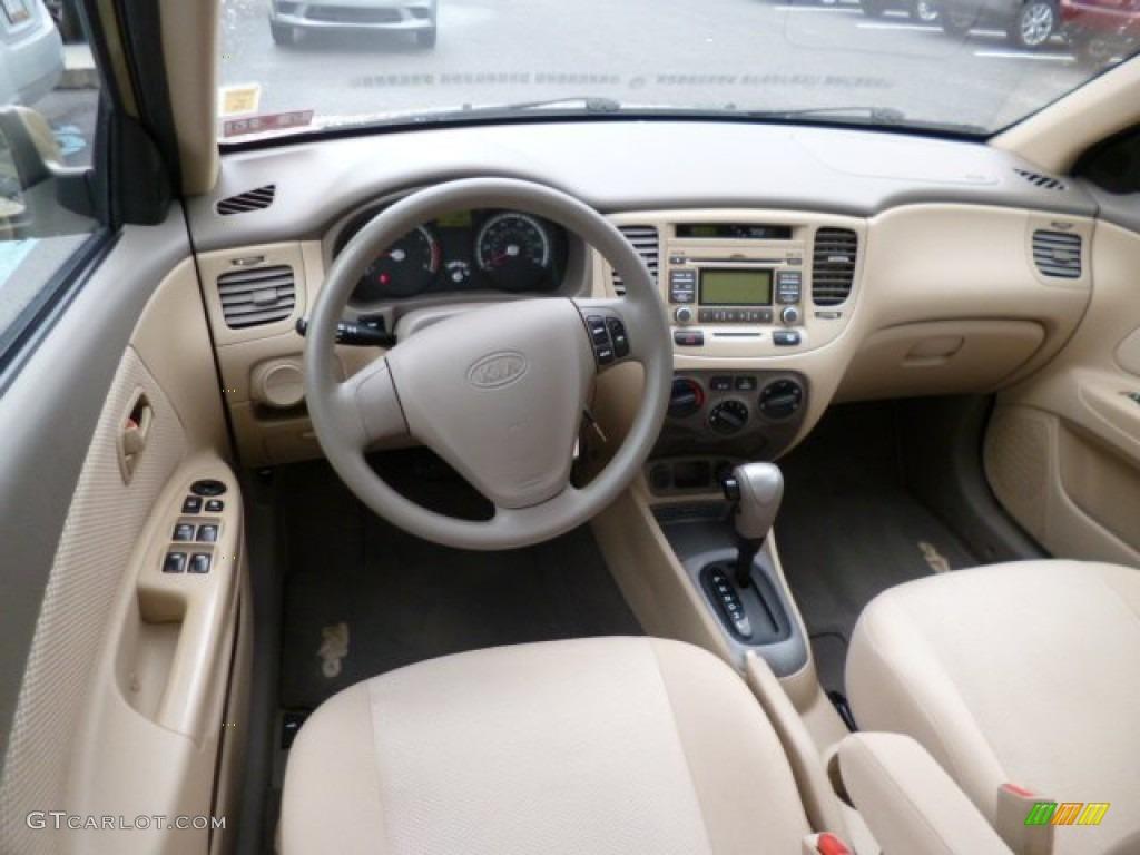 2009 kia rio lx sedan interior photos gtcarlot com