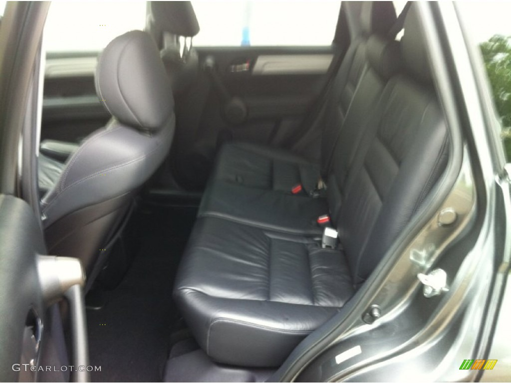 2011 CR-V EX-L 4WD - Polished Metal Metallic / Black photo #7