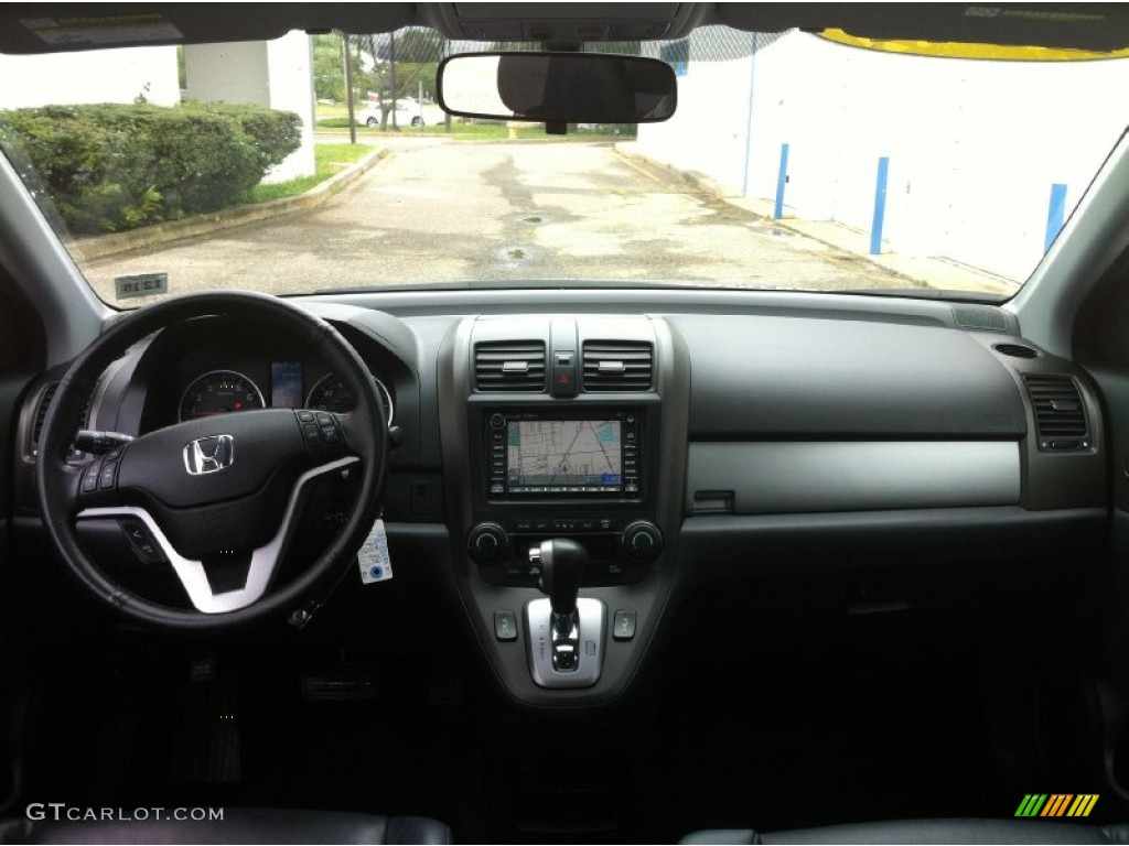 2011 CR-V EX-L 4WD - Polished Metal Metallic / Black photo #9